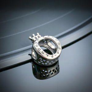 PANDORA Pandora Crown O Logo Charm